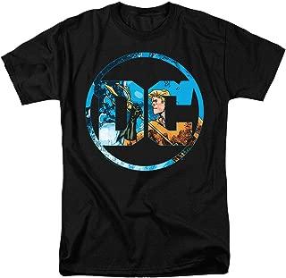 Aquaman DC Comics Logo T Shirt & Stickers