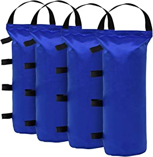 Eurmax 112 LBS Extra Large Pop up Canopy Weights Sand Bags for Ez Pop up Canopy Tent..