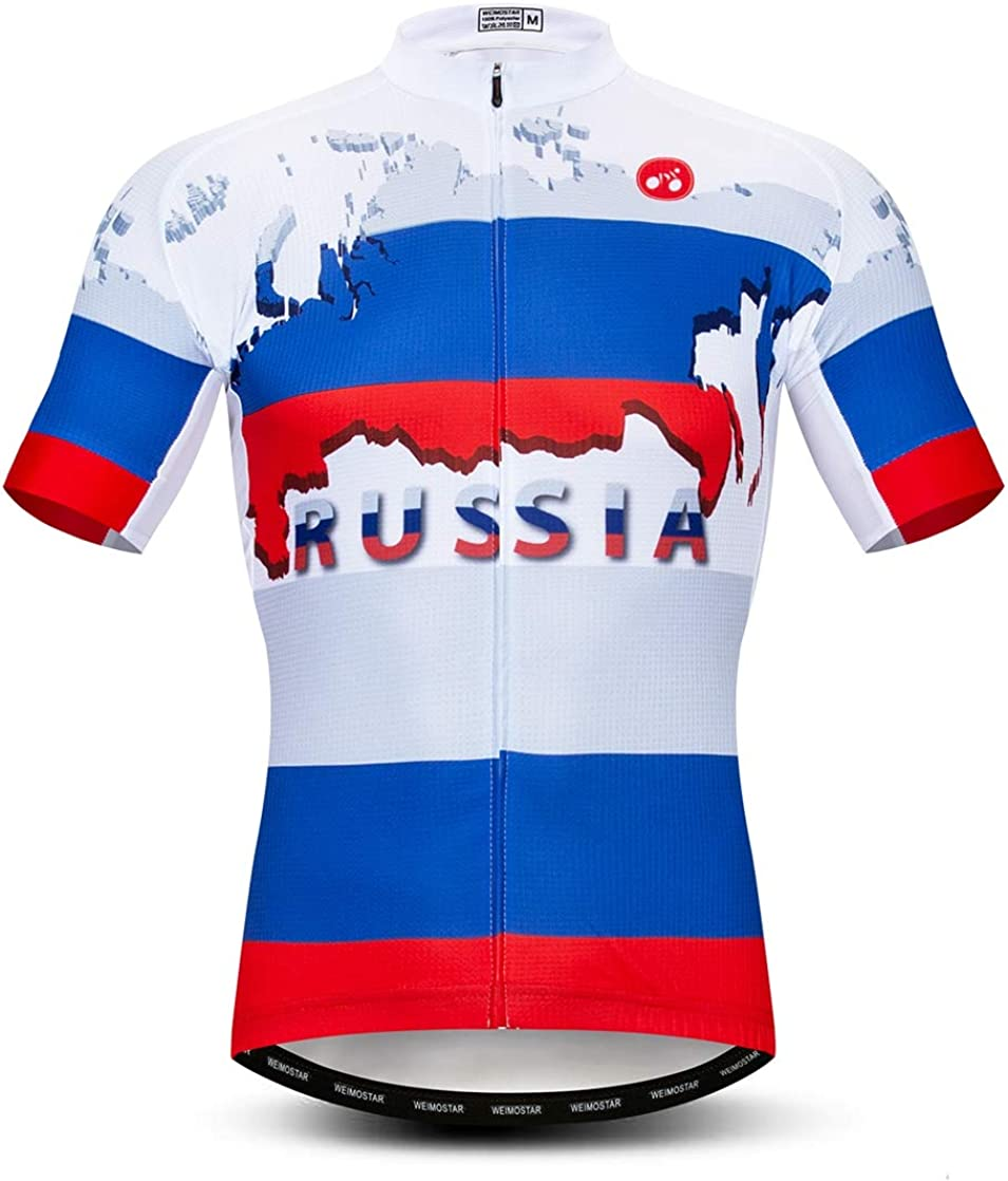 weimostar Cycling Jersey Men bike clothes bicycle jersey top shirts Road MTB jersey short sleeve Summer