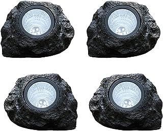 الشمسية الصخور ضوء في الهواء الطلق للماء حديقة المشهد الأضواء محاكاة المشهد الحجر مصباح أضواء الأضواء الزخرفية الإضاءة ل س...