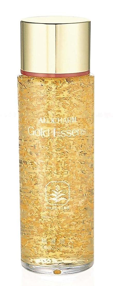 複雑ペチュランスプランターアロチャーム 純金箔入り ゴールドエッセンス 120ml