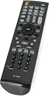 New RC-762M Replace Remote Control fit for Onkyo AV Receiver Home Theater System AVX-280 AVX-290 HTP-380 HT-R280 HT-R290 HTR380 HT-R380 HT-R390 HT-R538 HT-RC230 HT-S3300 HT-S3300B HT-S3400 SKC-380