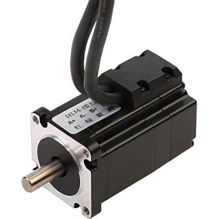 RTELLIGENT Closed Loop Nema 23 Stepper Motor 2 Phase 2.0NM 4.0A 57x57x97mm with 30cm Cable for CNC Automation Equipment