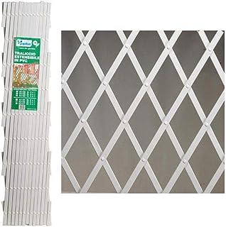Papillon 8091550 Celosia PVC Blanca Extensible 4x1 Metros,