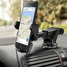PACC MAN HUG PUPPY Universal Car Dashboard Mobile Holder Adjustable 360 Degree (Black)