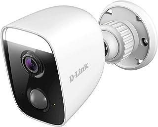 D-Link Australia Full HD Outdoor Wi-Fi Spotlight Camera (DCS-8630LH-AU) Person & Motion Detection, 1080p, Colour Night Vis...