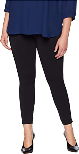 Plus Size Look at Me Now Seamless Side Zip Leggings