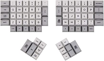 4a6040b88df DSA Ergo Dye-Sub keycap Grey and Milky Color 95 Keys Within Personality  Additional for