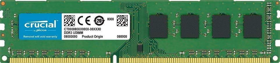 Crucial CT102464BD160B - Memoria RAM de 8 GB (DDR3L, 1600 MT/s, PC3L-12800, DIMM, 240-Pin)