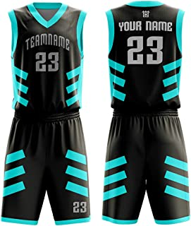 M-W Sports CustomYo Basketball Jerseys 2020 Design Full Sublimated - Make Your School Jersey - Personalized Team Uniforms