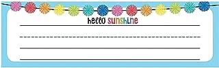 Fun Express - Sgs Hello Sunshine Nameplates - Educational - Teaching Aids - Misc Teaching Aids - 36 Pieces