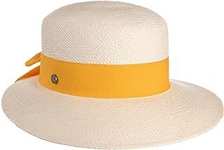 Lierys Cappello Panama Brisa Donna - Made in Italy Paglia di Cappelli da Spiaggia con Visiera, Nastro Grosgrain, Grosgrain...