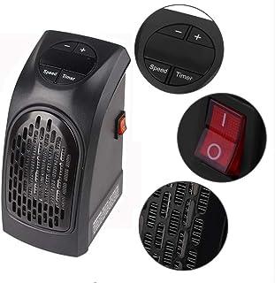 Qwhome Calentador Portátil Ventilador Portátil Ventilador Ventilador Eléctrico Portátil Calentador De Aire Radiador Mini Calentador Eléctrico Hogar Calefacción Oficina