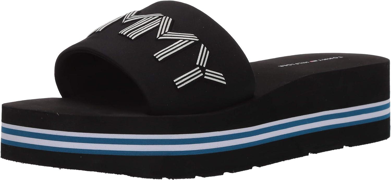 Tommy Hilfiger Women's Platform Sandal Heeled