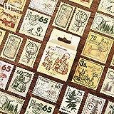 BLOUR Serie de la Oficina de Correos de la Naturaleza, Pegatinas de decoración Kawaii en Caja Bonitas, planificador, papelería, papelería, Pegatinas de Diario japonés