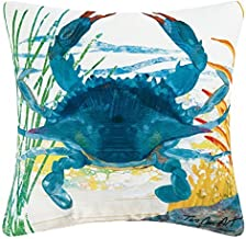 C&F Home Indoor/Outdoor Throw Pillow, Blue Crab