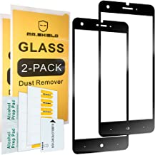 [2-Pack]-Mr.Shield for ZTEBladeX (Z965) [Japan Tempered Glass] [9H Hardness] [Full Cover] Screen Protector with Lifetime Replacement