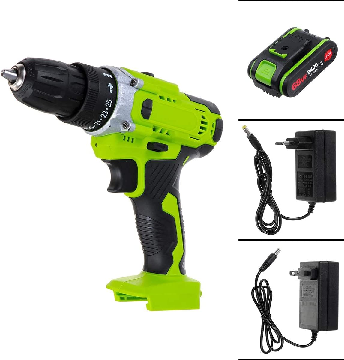 350N.m 2 IN 1 Electric Ranking TOP5 Drill Impact We OFFer at cheap prices Rechargable Screwdr Cordless