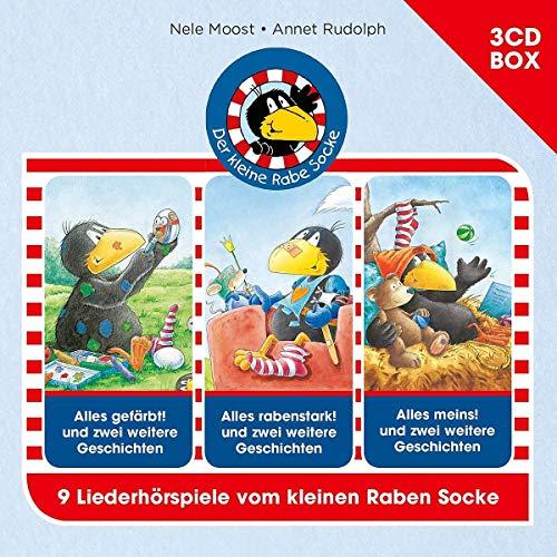 Der kleine Rabe Socke 3-CD Hörspielbox Vol. 2