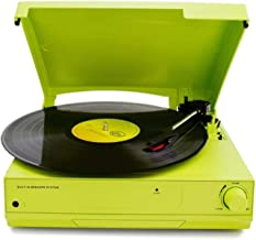 $285 » guizhoujiufu Radio Speaker Home Speakers Modern Vinyl Record Player Gramophone 33/45/78 RPM Turntable to Play Bluetooth 2....