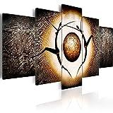 murando Cuadro en Lienzo Abstracto 200x100 cm Impresión de 5 Piezas Material Tejido no Tejido Impresión Artística Imagen Gráfica Decoracion de Pared Africa Mujer h-A-0015-b-m