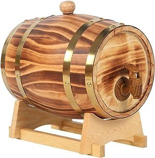 HWhome Multifonction Tonneau De Vin, Vin De Bois Spécial Distributeur De Fûts, Vin Rouge Vieilli Ou Conservé, Whisky, Bièr...