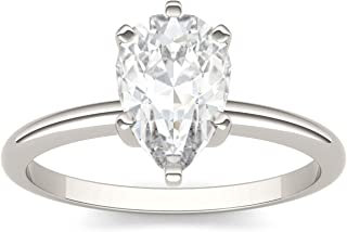 pear shaped moissanite
