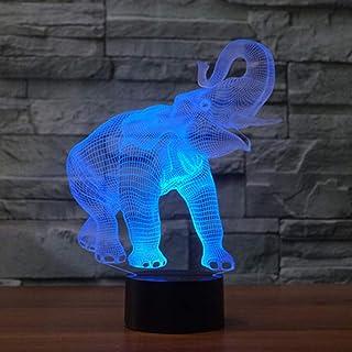 7 Farben//dekoration Lampen//geburtstag Weihnachtsgeschenk//touch 3d Visuelle Illusion Lampe Engel Laterne WangZJ 3d Nachtlicht Illusion Lampe