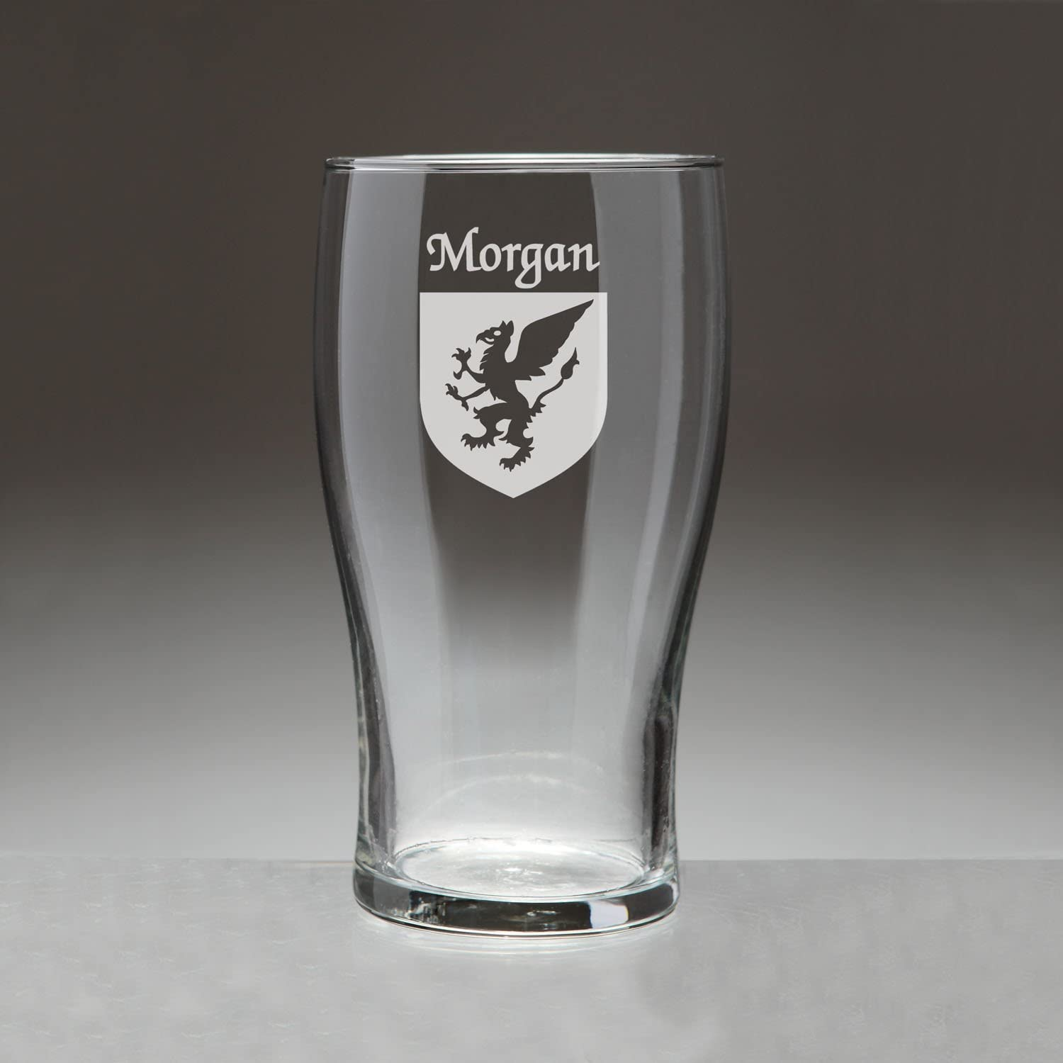 Morgan Irish Coat of Arms Tavern Sand Set New products world's highest quality popular Glasses 4 Etched - Challenge the lowest price