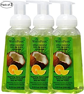 White Pearl Foaming Hand Wash With Citrus&Coconut(250ml) (Pack of 3)