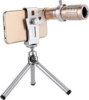 Handheld Smartphone Monocular Telescope With Mobile Phone Clip And Tripod Professional Portable Telescope 12X Telephoto Zo...