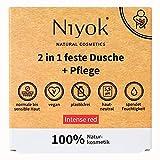 Niyok® 2 in 1 feste Dusche und Pflege | festes Duschgel ohne Palmöl | hautneutral pH 5,5 vegan...