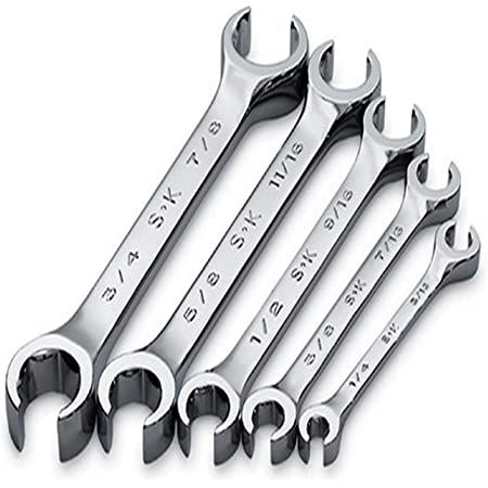 SK Flare-Nut Crowfoot Wrench 5//8 x 3//4 Tools