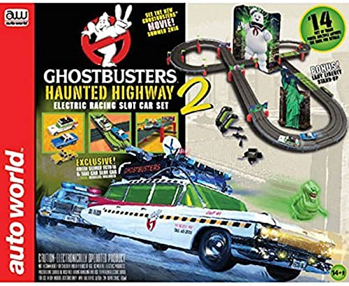 alta calidad general Ghostbusters 14' Haunted Highway 2 SlotCar RaceSet by Round Round Round 2  con 60% de descuento