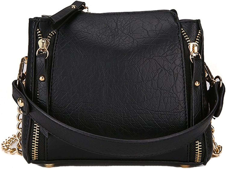 Meaeo Schultertasche Messenger Bag Bag Bag New Wild, Schwarz B07FLG8TMH  Moderne und stilvolle Mode 1d2671