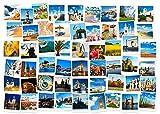 FAWFAW Puzzle Personalizado, 2000 Piezas, Collage De Paisaje De Atracción Turística De Arquitectura Histórica Europea Gran Rompecabezas De Madera 100X70Cm