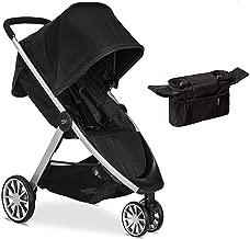 Britax B-Lively Lightweight Stroller, Raven with Organizer Bundle