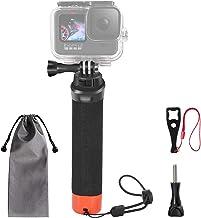 VKESEN Schwimmender Handgriff Wasserdicht Griff Rutschfester tauchen Selfie Stick Einbeinstativ Action Cam zubehör für GoP...