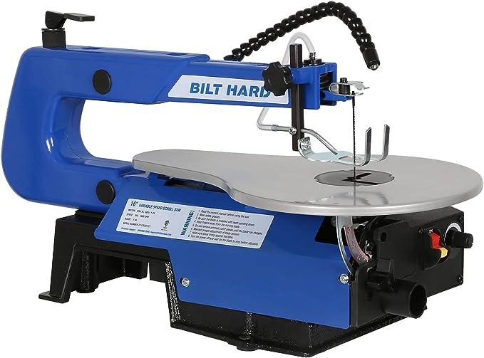 BILT HARD 16-inch Scroll Saw - The Best User-Friendly Saw