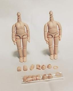 ドールコレクティブル 11cmボディ白肌つや消し肌 2個組 新版 OB11