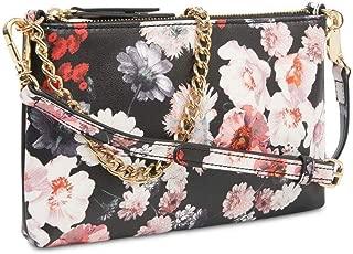 Floral Print Pouchette Crossbody Shoulder Bag