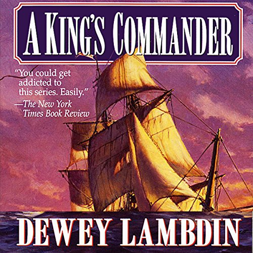A King's Commander audiobook cover art