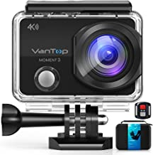 VanTop 4K WiFi Action Camera w/ 32GB TF Card, 16MP Sony...