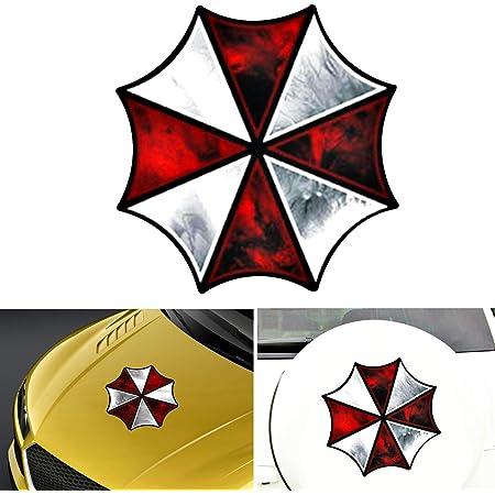 Umbrella Corporation Aufkleber Resident Evil Auto Frontabdeckung Karosserieaufkleber Für Fahrzeuge Auto