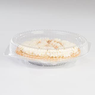 disposable plastic pie containers