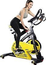دراجة تمارين داخلية لركوب الدراجات الهوائية ، حزام مباشر مدفع عجلة القيادة وأجهزة استشعار معدل ضربات القلب المغناطيسية ، م...