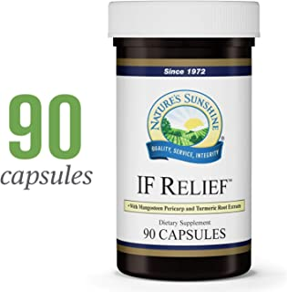 Nature's Sunshine IF Relief, 90 Capsules | Powerful Combination of Herbs That May Support The Body's Natural Process for Dealing with Muscle Pain Following Exercise