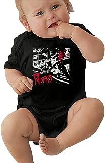 The Misfits Ride Johnny Ride Female Unisex Music Baby Underwear Short Sleeve