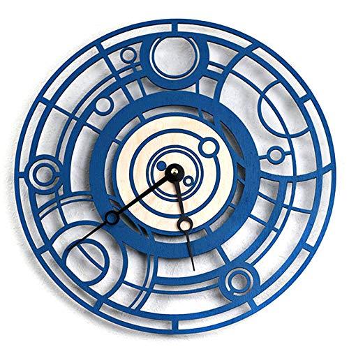 QXbecky Reloj de Pared Hora Reloj de Pared decoración de la Pared Mesa Colgante