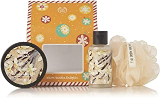 The Body Shop Warm Vanilla Delights - Warm Vanilla products, in a sweet, creamy and oh-so-festive fragrance.